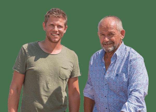 Dirk en Martyn Wielemaker