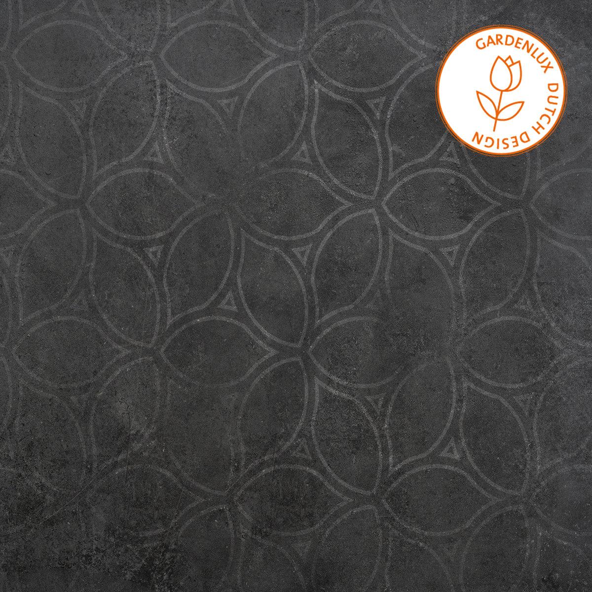 Cera3Line Square Decor Antracite