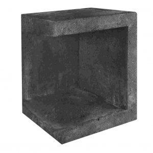 U-element hoek zwart